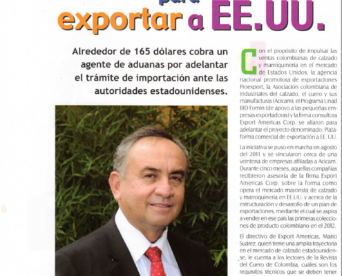 Exportar a USA